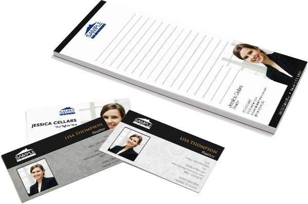 real estate business cards and stationery