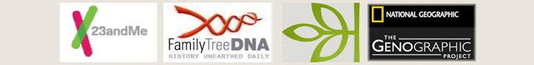 4 DNA test logos
