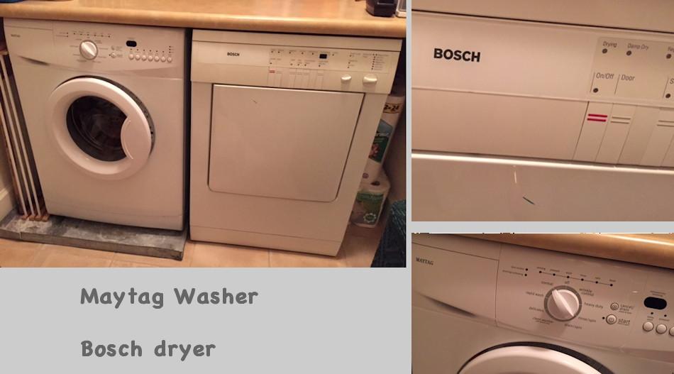 Maytag Washer Bosch Dryer